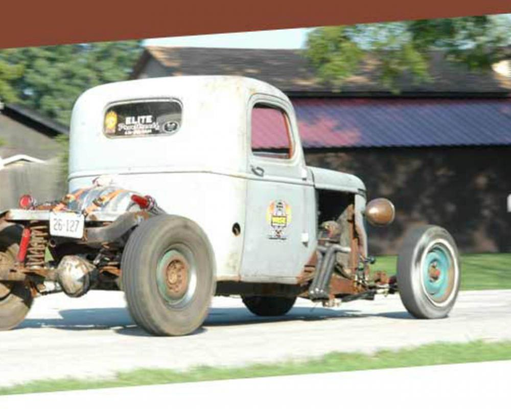 International Rat Rod Pickup: Photo #