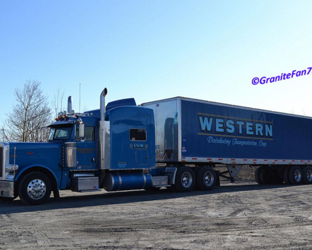 Western Distributing Peterbilt 389 | Flickr - Photo Sharing!