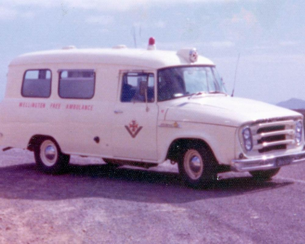 Wellington Free Ambulance - International AB110's