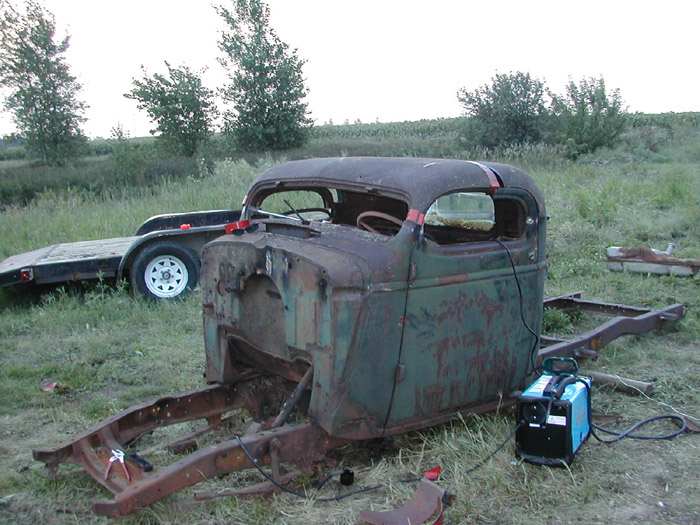 1939 Chevy Rat Rod Pick Up Truck The H A M B