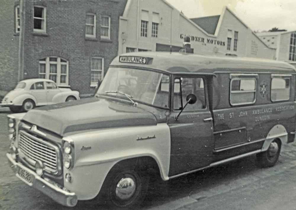 Ex-South Island Reion Ambulances