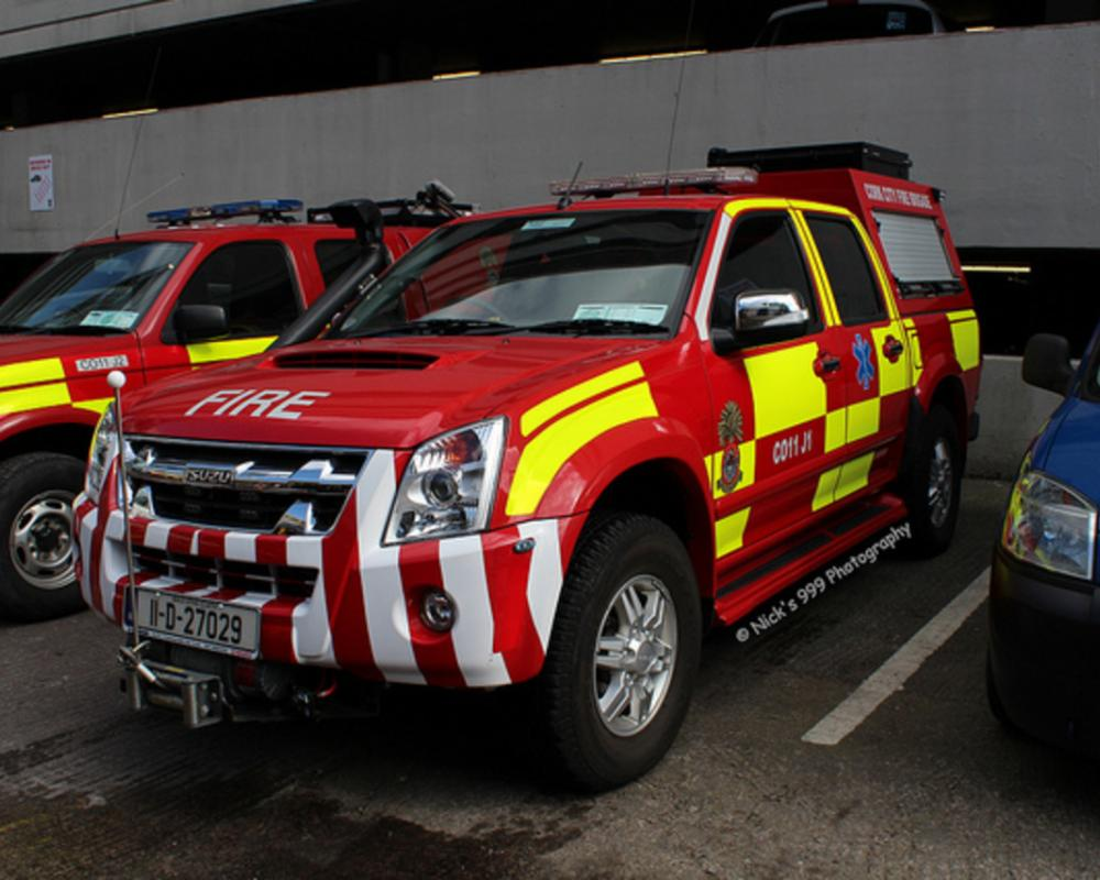 Cork City Fire Brigade / CO11J1 / 11 D 27029 / Isuzu D-Max / All ...