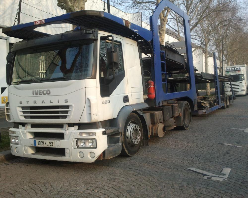 Iveco stralis 400(1809 YL 93,F) Paris(F) 31.03.2013 | Flickr ...