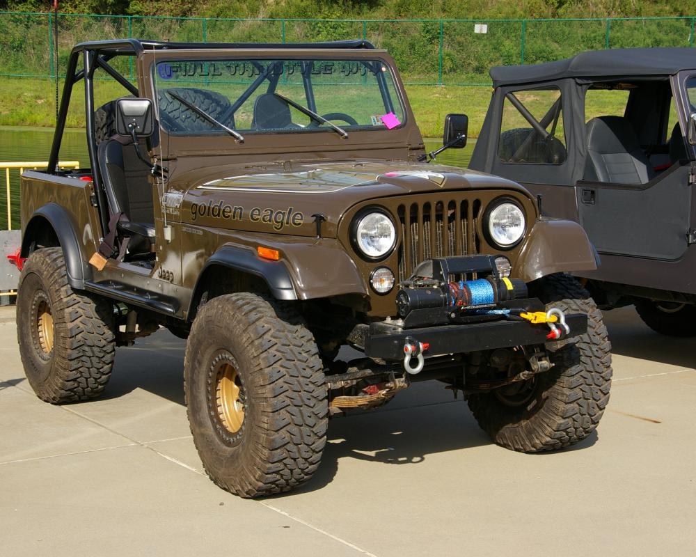 Jeep Golden Eagle CJ-7 | Flickr - Photo Sharing!