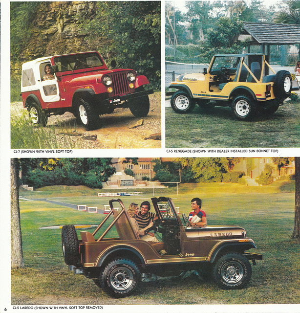 1980 Jeep CJ-7, CJ-5 Renegade, and CJ-5 Laredo | Flickr - Photo ...