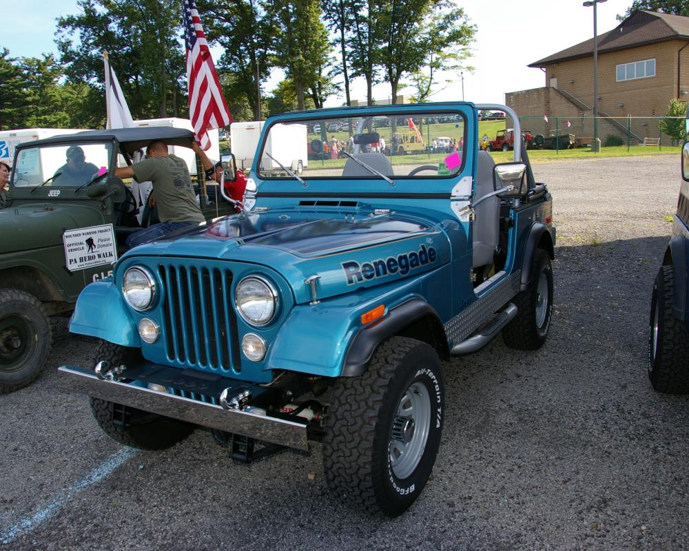 Jeep CJ-7 Renegade Levi's Edition Parked In The Parade Staging ...