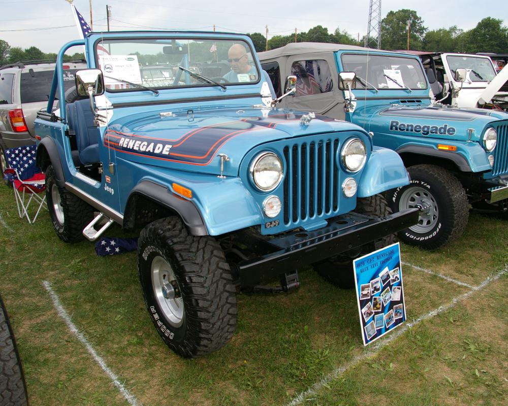 1976 Jeep CJ-7 Renegade Blue Levi's Edition | Flickr - Photo Sharing!