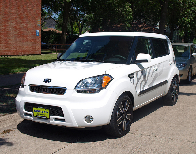 2011 Kia Soul White Tiger Edition 2 | Flickr - Photo Sharing!