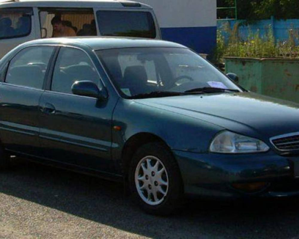 2001 KIA Clarus Pictures, 2000cc., Gasoline, FF, Manual For Sale