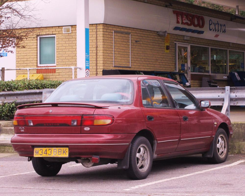 1995 Kia Mentor 1.6 GLX Saloon. | Flickr - Photo Sharing!