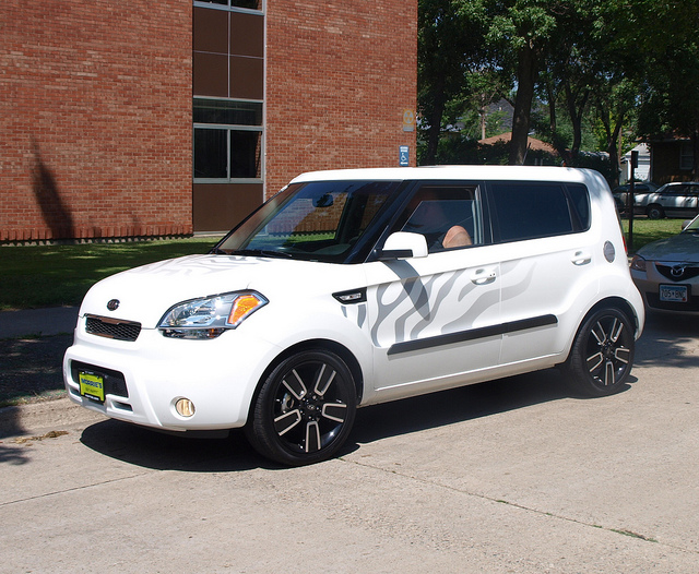 2011 Kia Soul White Tiger Edition 1 | Flickr - Photo Sharing!