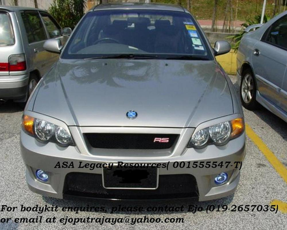 KIA Spectra RS Front Bumper - Front View | Flickr - Photo Sharing!