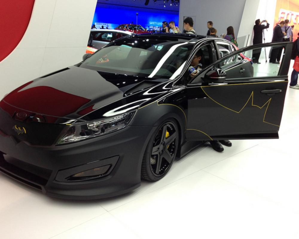 Batman inspired 2013 Kia Optima | Flickr - Photo Sharing!