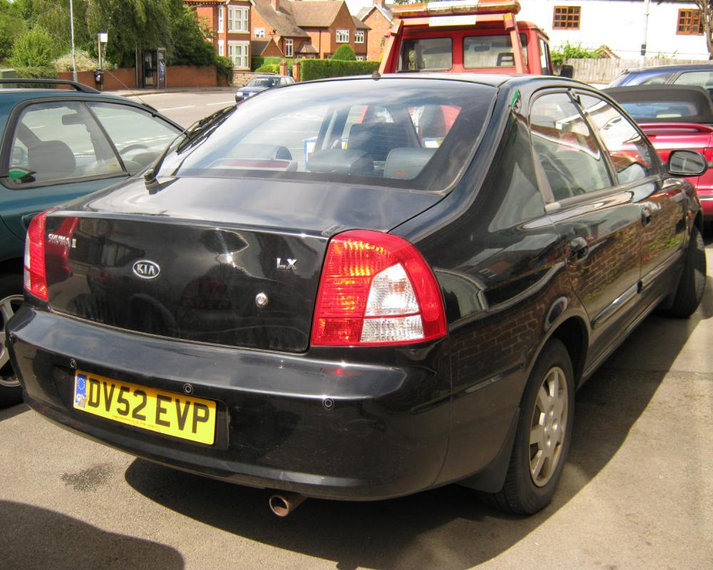 OCTOBER 2002 KIA SHUMA LX 1793cc DV52EVP | Flickr - Photo Sharing!