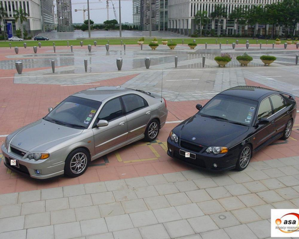 The Twins (KIA Spectra RS Bumper) | Flickr - Photo Sharing!