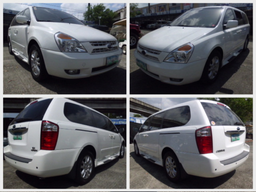 2009 Kia Carnival EX CRDi A/T Diesel For Sale!!! - Parañaque - Cars