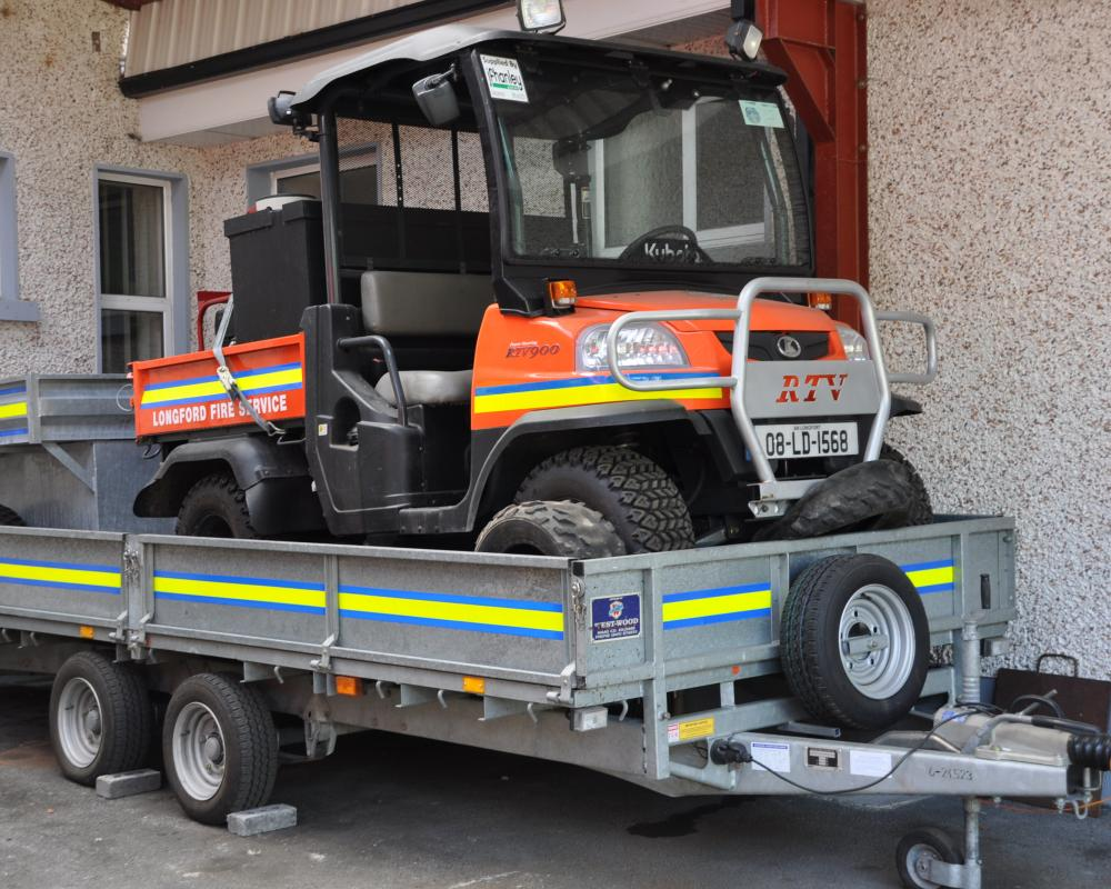 Longford Fire and Rescue Service Kubota RTV 900 L4V CAFS | Flickr ...