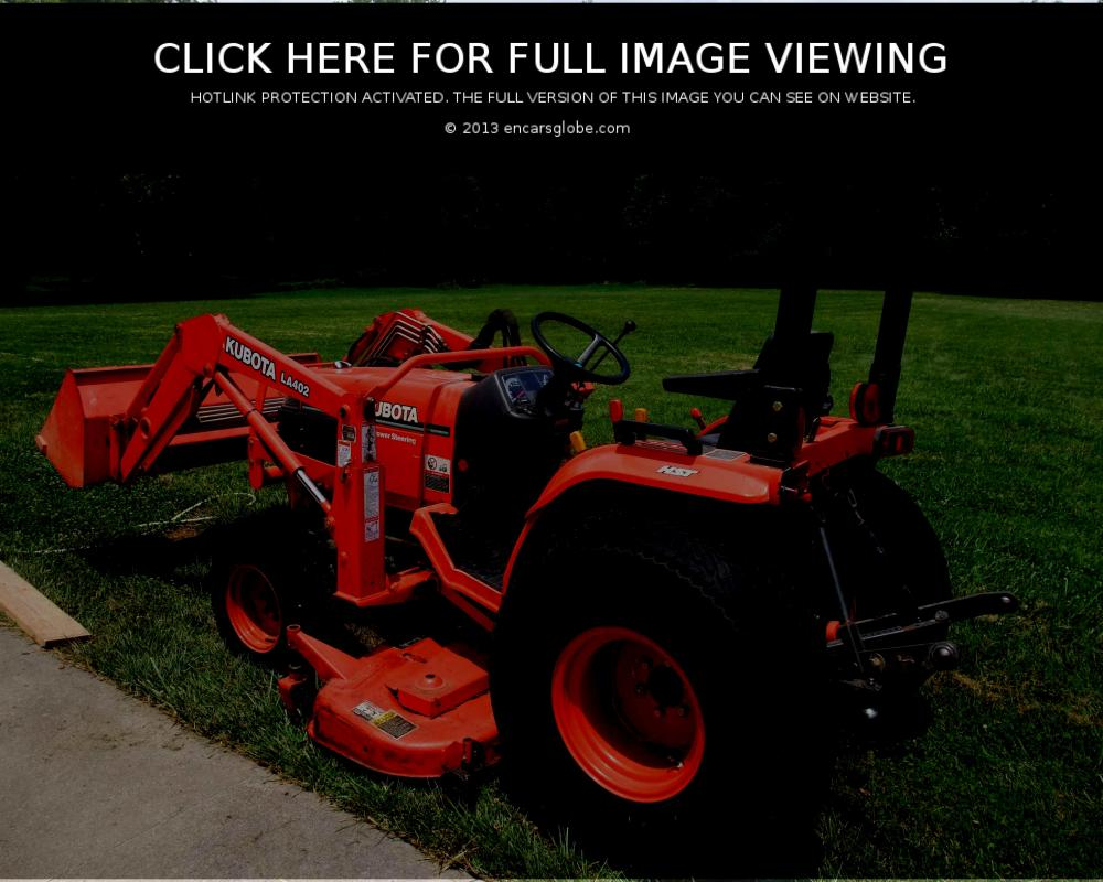 Kubota LA 402 Photo Gallery: Photo #06 out of 9, Image Size - 640 ...