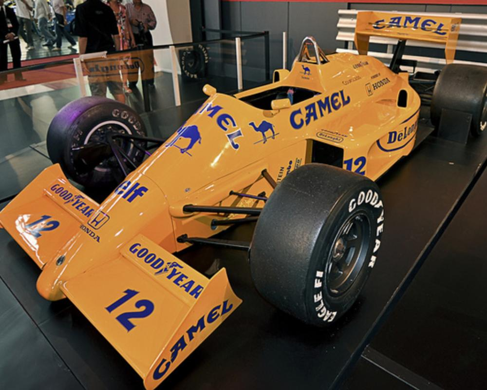 Ayrton Senna's 1987 Lotus 99T | Flickr - Photo Sharing!