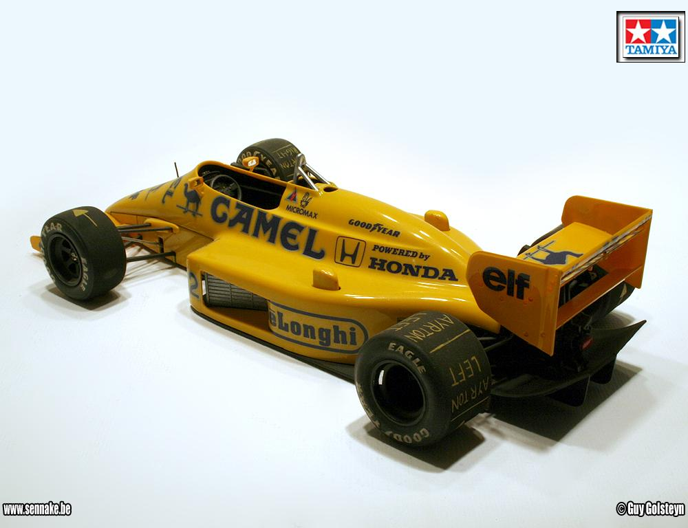 Lotus 99T - Tamiya 1:20 | Flickr - Photo Sharing!