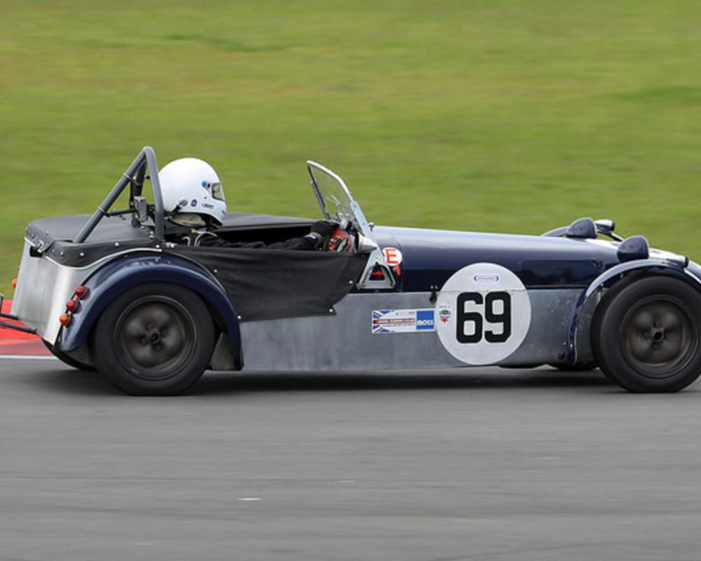 Lotus 7 S2 - Andy Shepherd - Snetterton 9th June 2012 | Flickr ...