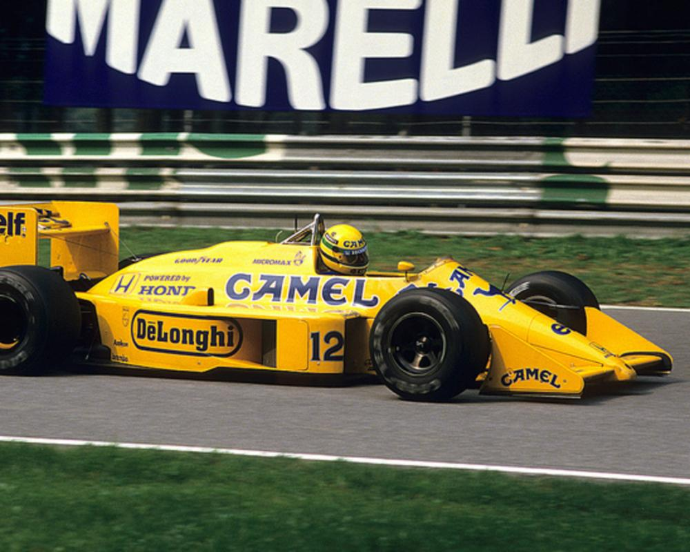 Ayrton Senna. Lotus 99T. F1 GP Italy, Monza, 1987 | Flickr - Photo ...