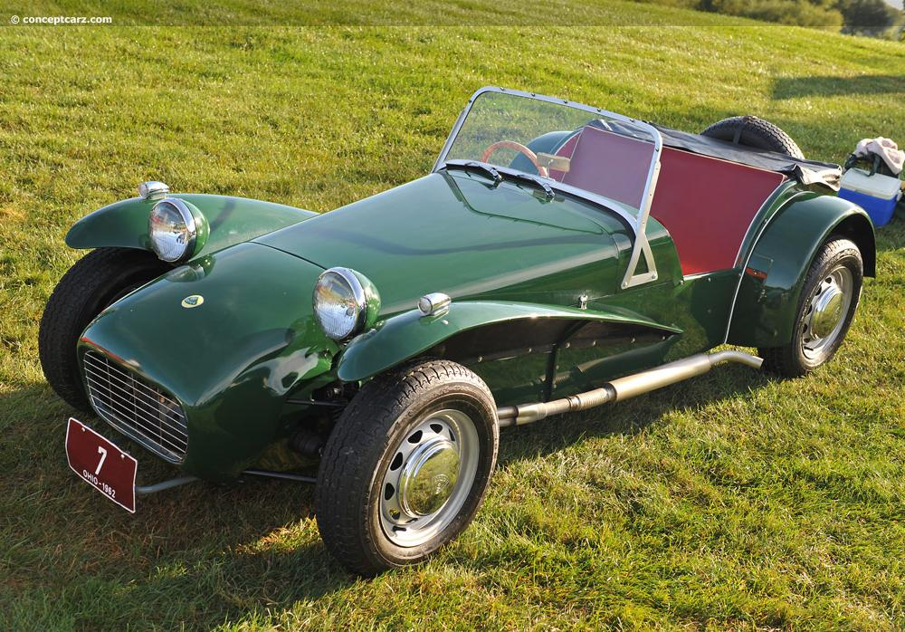 1962 Lotus Seven Images, Information and History (7, Series II, S2 ...
