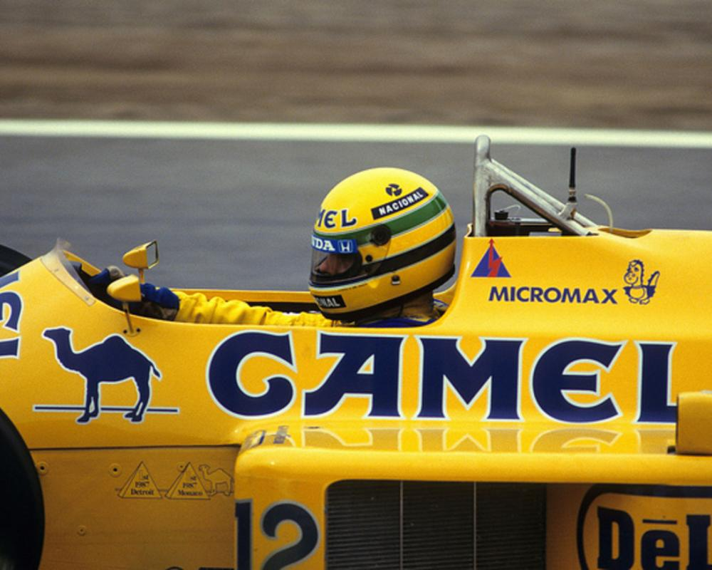 Ayrton Senna. Lotus 99T. 1987 | Flickr - Photo Sharing!