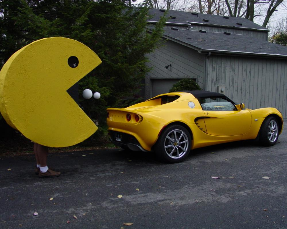 Pacman and the Lotus Elise | Flickr - Photo Sharing!