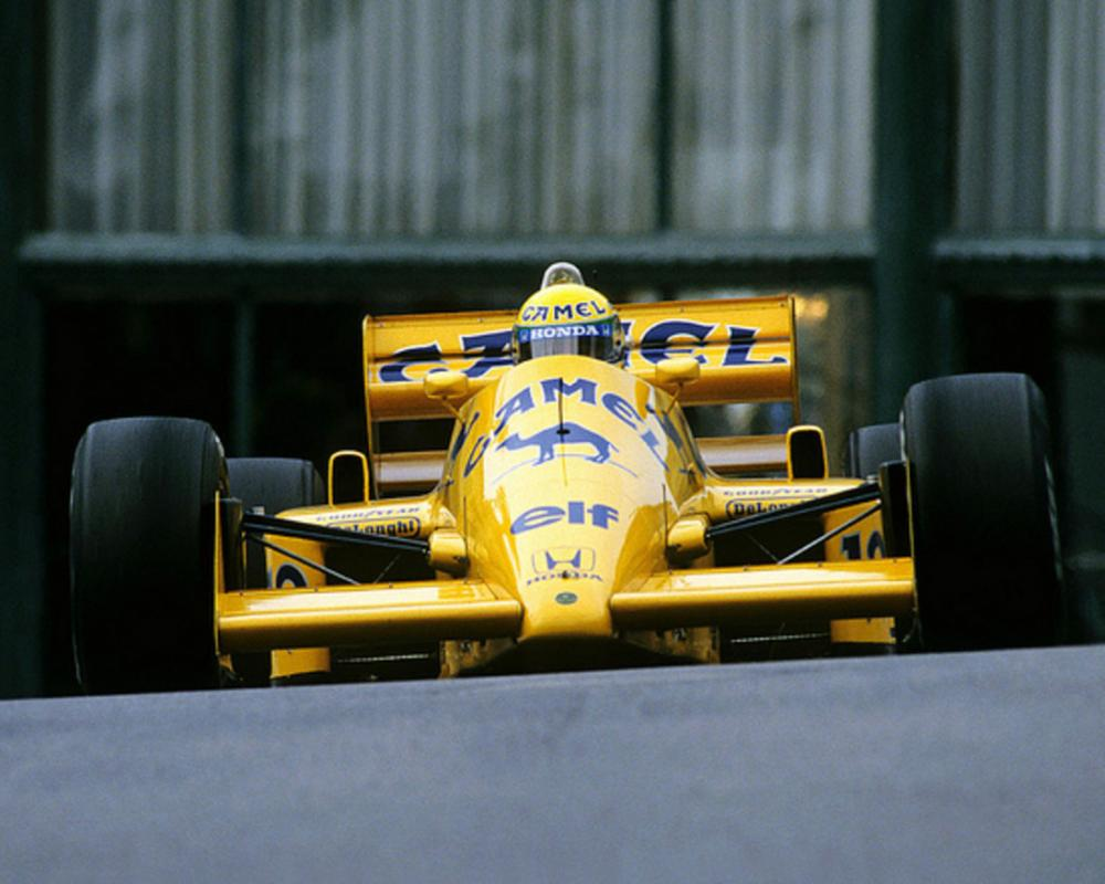 Ayrton Senna. Lotus 99T. F1 GP Monaco 1987 | Flickr - Photo Sharing!