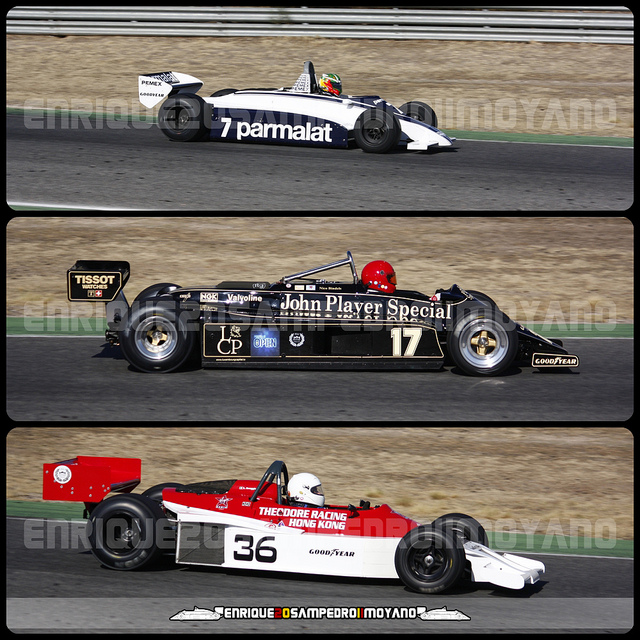 Brabham BT49C-10 & Lotus 87B/3 & Theodore TFR1 | Flickr - Photo ...