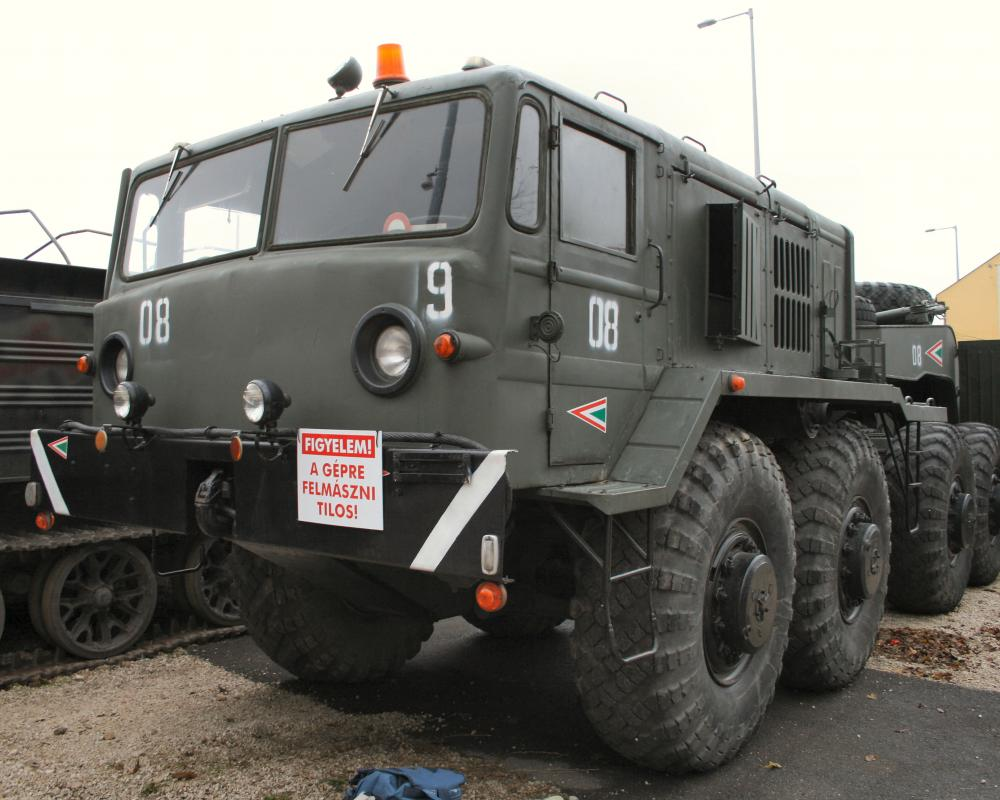 MAZ-537 Heavy Prime Mover Walk Around Page 1
