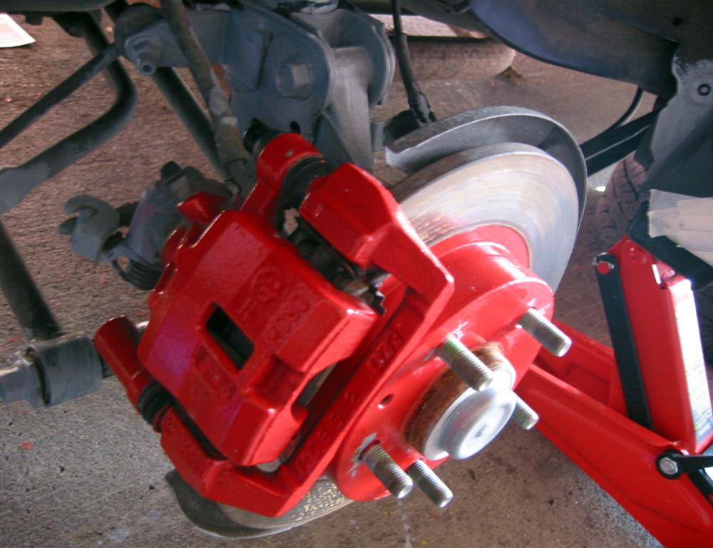 Mazda Protegé5 Painted Brake Calipers | Flickr - Photo Sharing!
