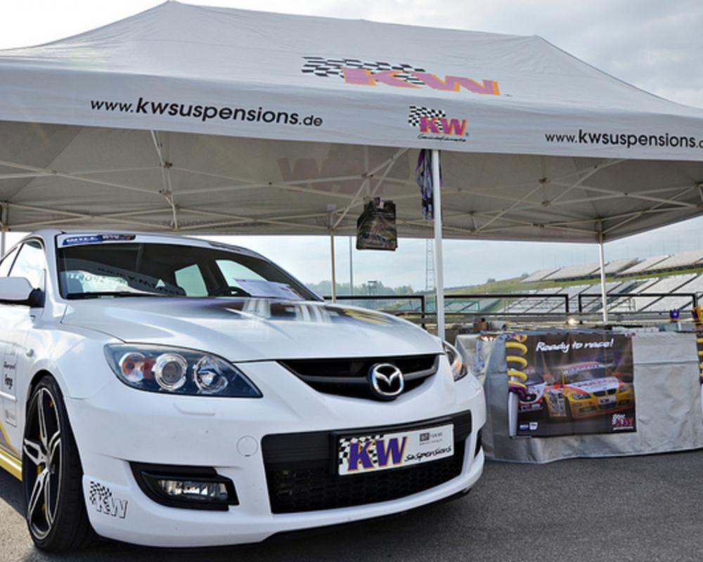 KW Suspension Mazda 3 MPS | Flickr - Photo Sharing!