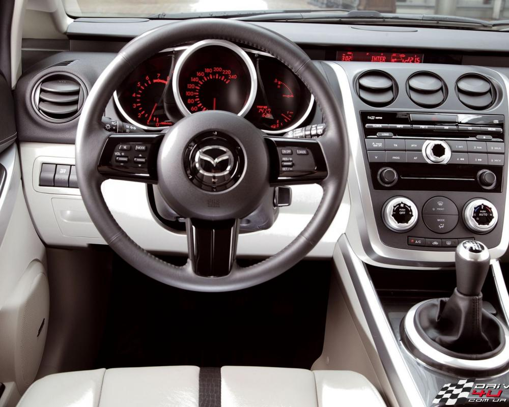 View of Mazda CX-7 2.3. Photos, video, features and tuning of ...