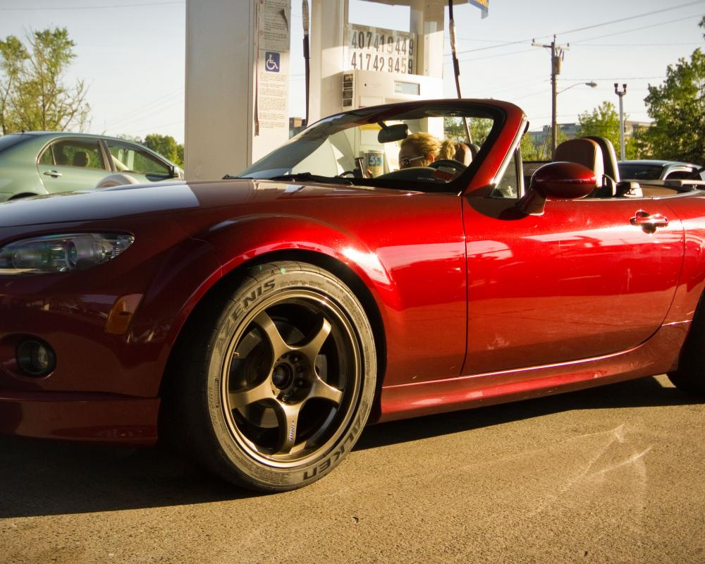 Copper Red 2006 NC Miata Bronze Wheels | Flickr - Photo Sharing!