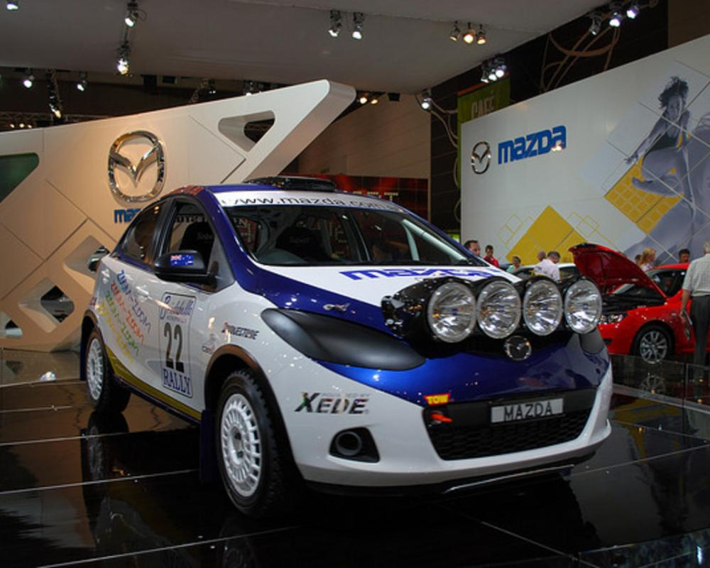 Mazda 2 Rally Car | Flickr - Photo Sharing!
