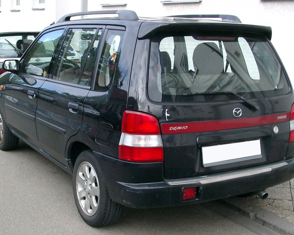 File:Mazda Demio rear 20070926.jpg - Wikimedia Commons