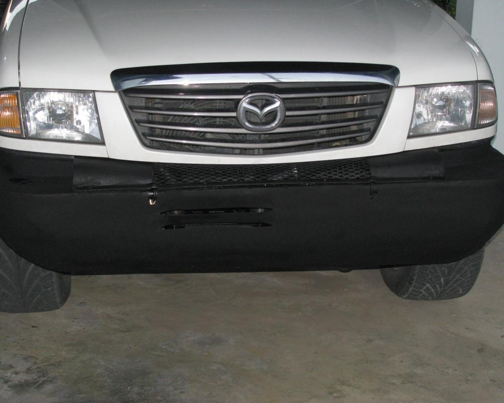 Mazda B2500 Turbodiesel Brush Bumper: Completed | Flickr - Photo ...