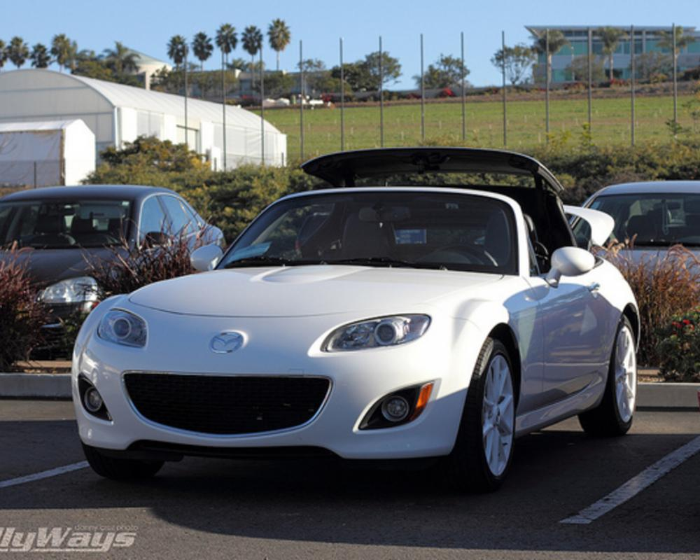 2012 Mazda MX-5 Miata Pearl White | Flickr - Photo Sharing!