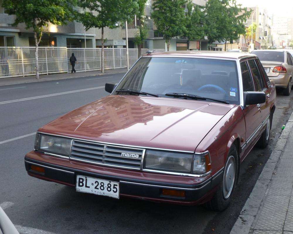 Mazda 929 Limited (Luce) - Santiago, Chile | Flickr - Photo Sharing!