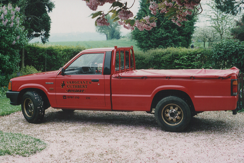 1988 Mazda B2200, early 1990s | Flickr - Photo Sharing!