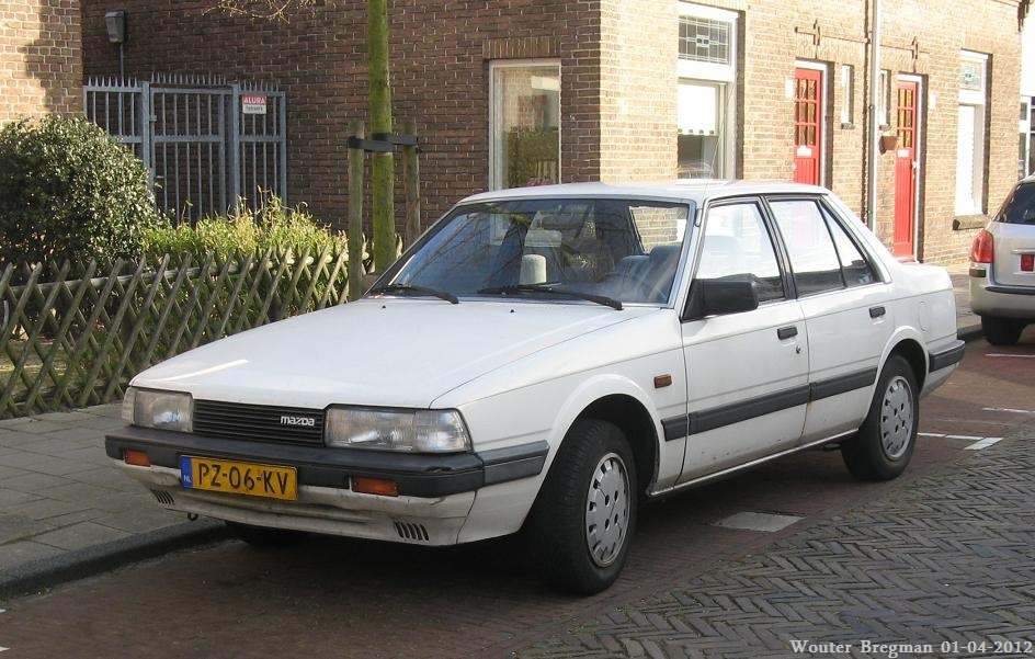 Mazda 626 GLX 1986 | Flickr - Photo Sharing!