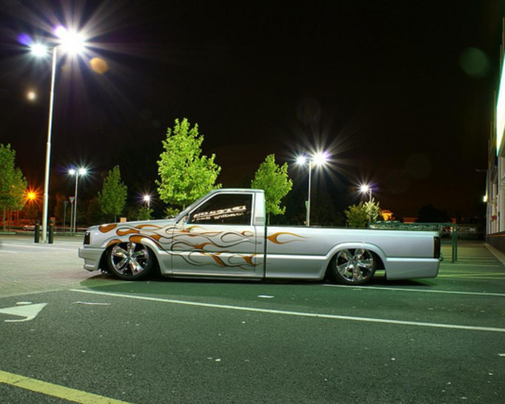 Mazda B2200 V8 Lowrider | Flickr - Photo Sharing!
