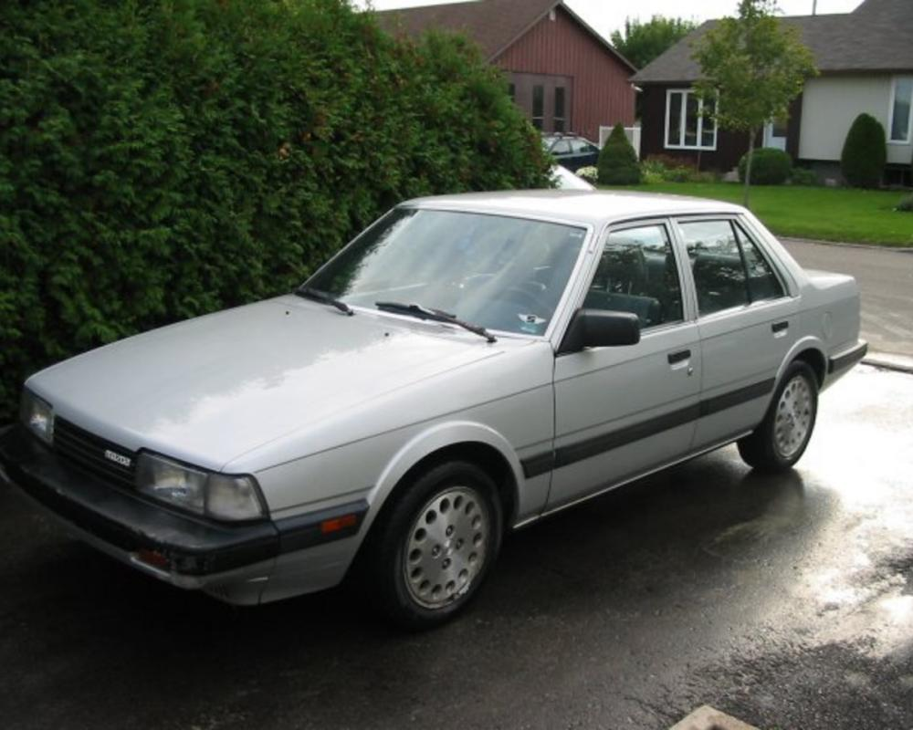 1986 Mazda 626 | Flickr - Photo Sharing!