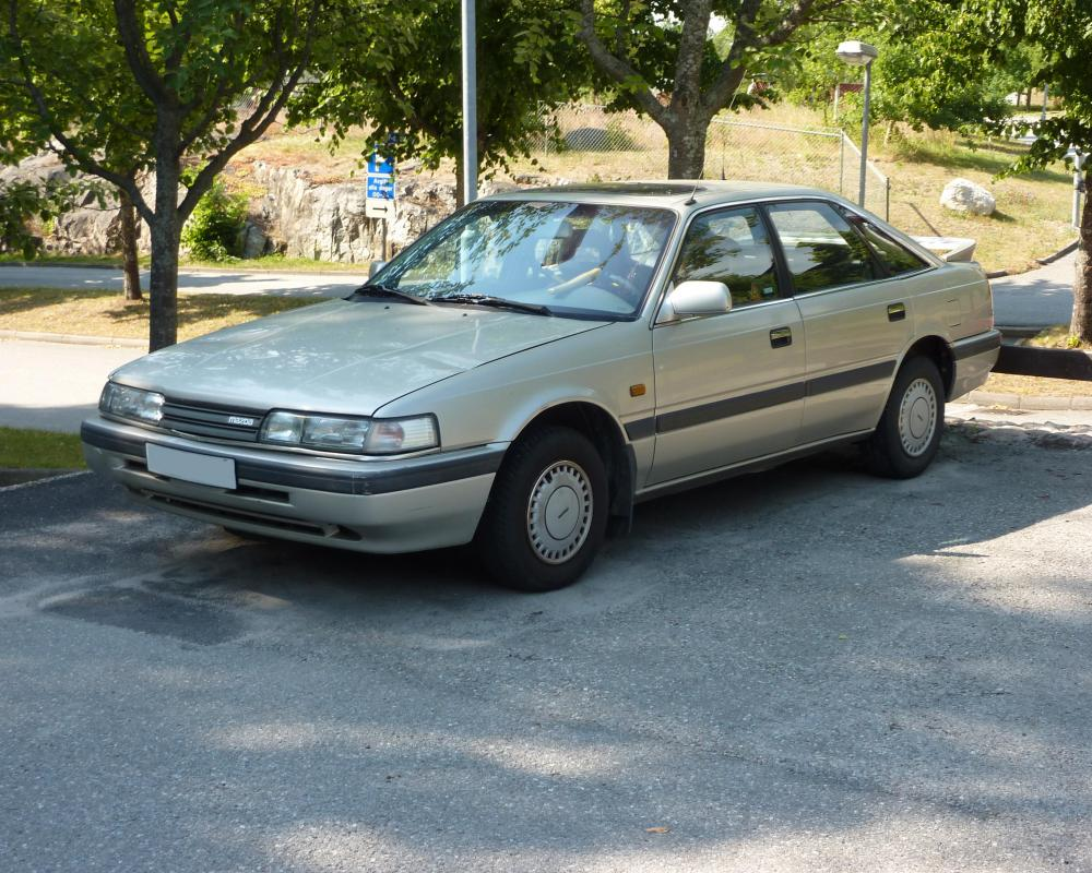MAZDA 626 GLX 1989 | Flickr - Photo Sharing!