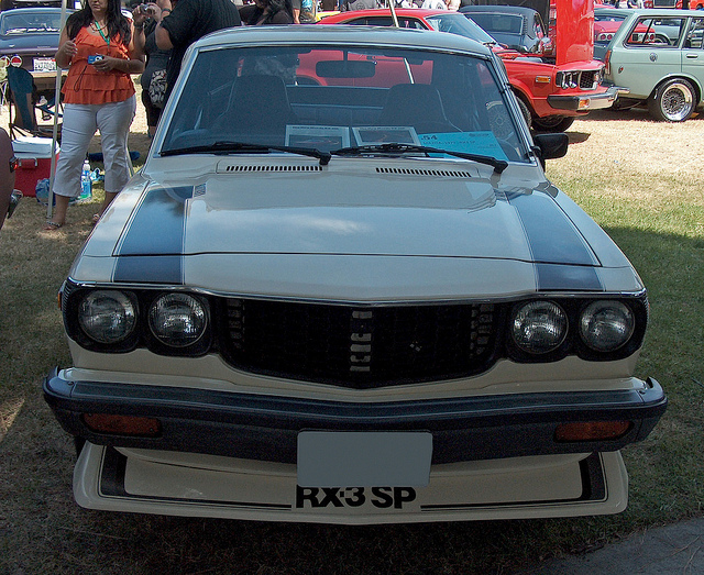 1977 Mazda RX-3 SP Coupe front | Flickr - Photo Sharing!