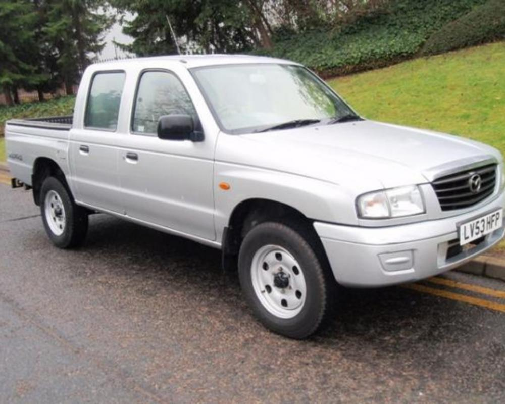 Mazda B2500 Turbo Double Cab 4x4 Pick Up | Flickr - Photo Sharing!