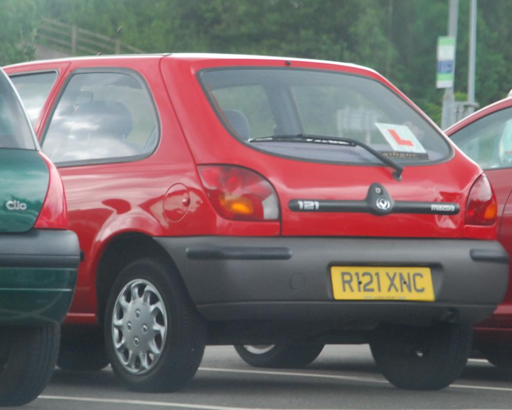 Mazda 121 (mk4 fiesta) | Flickr - Photo Sharing!