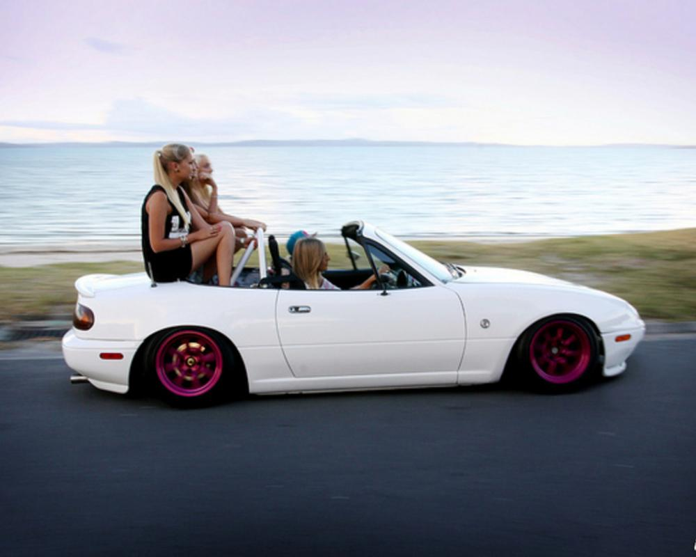 iheartstance Miata (Mazda MX-5 Roadster) Hellaflush shoot | Flickr ...